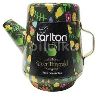 TARLTON Tea Pot Green Emerald Green Tea plech 100g