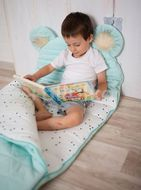 Kinder Hop Spací pytel Dream Catcher Triangles Aquamarine 170x75cm
