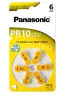 Panasonic PR-10B6 (PR230) Baterie do naslouchadel 6ks