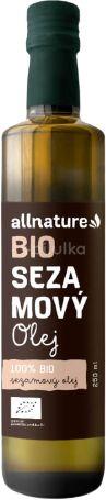 Allnature BIO Sezamový olej 250ml