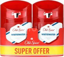 Old Spice deo tuhý DUO 2x50ml White water