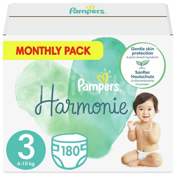 Pampers Harmonie Velikost 3, 180ks