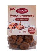 Biopekárna Zemanka BIO čoko-kokosky s fairtrade čokoládou 100g