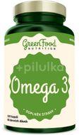GreenFood Nutrition Omega 3 120kapslí