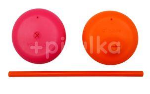 b.box Univerzální silikonová víčka růžové/oranžové