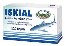 Naturell Iskial olej ze žraločích jater 120 tobolek