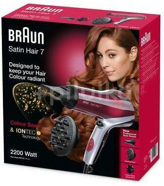 Braun Vysoušeč vlasů Satin Hair 7 HD770