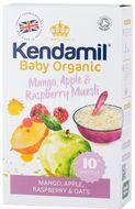 Kendamil Bio / Organická ovesná kaše s ovocem (mango, jablko, malina) 150g
