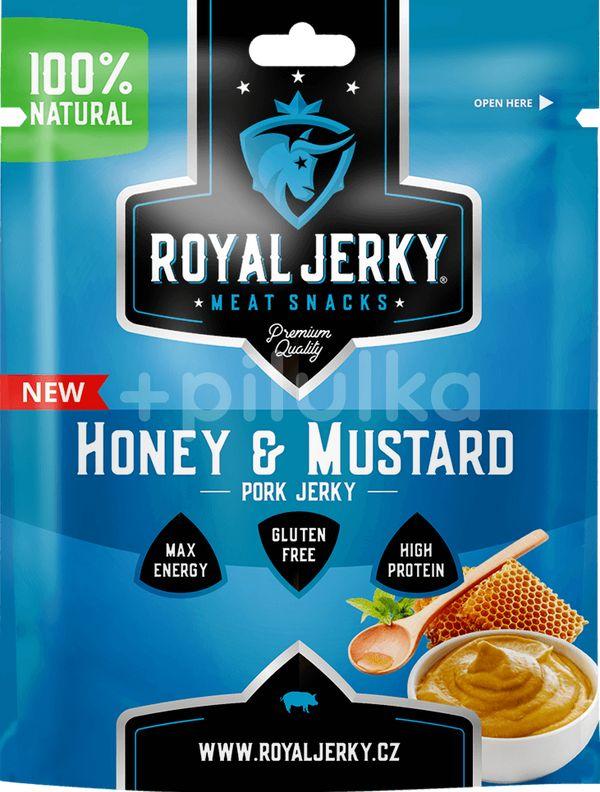ROYAL JERKY PORK HONEY&MUSTARD 22G