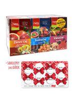 Apotheke Zimní/Sváteční/Vánoční čaj+dárek 60x2g