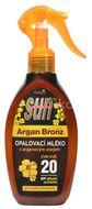 Sun Vivaco Opalovací mléko s arganovým olejem SPF20 rozprašovací 200ml