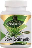 Golden Nature Saw Palmetto 45% mastných kyselin 100 kapslí