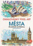 Grada Omalovánky Pixel Art Města 1ks