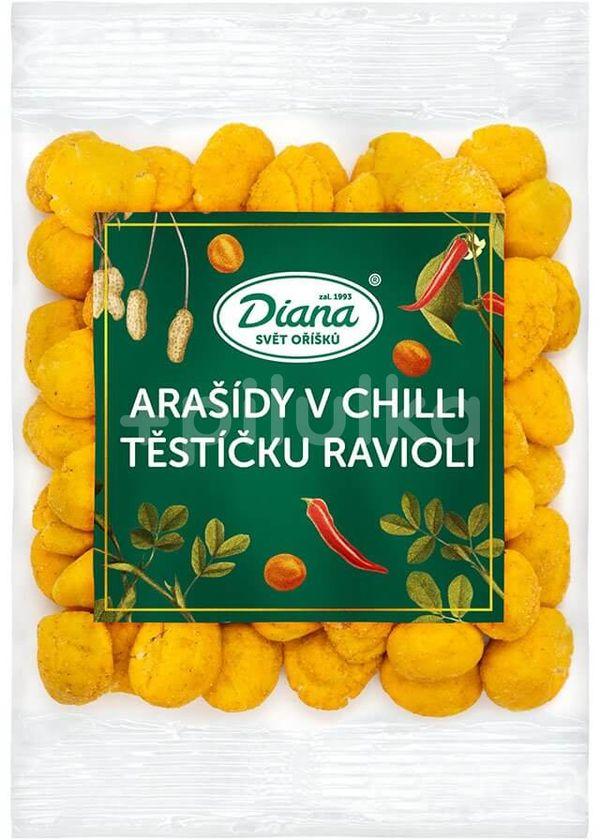 Diana Company Arašídy v chilli těstíčku ravioli 100g