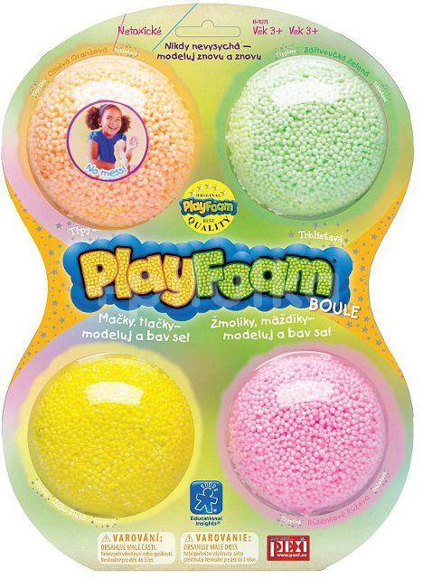 Pexi PlayFoam Boule - 4 pack - Třpytivé