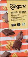 Veganz čokoláda s křupavými vaflemi Bio 80g