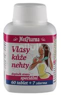 MedPharma Vlasy kůže nehty 67 tablet