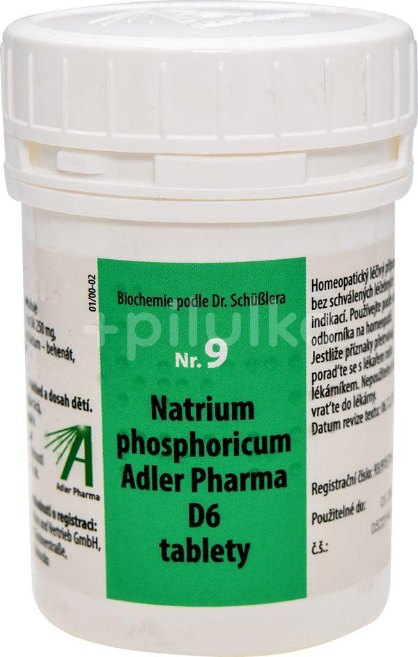 Adler Pharma Nr. 9 Natrium phosphoricum Adler Pharma D6 2000 tablet