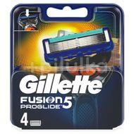 Gillette Fusion ProGlide náhradní hlavice 4ks