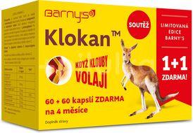 Barny's Klokan 60+60 kapslí