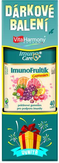 VitaHarmony ImunoFruitík Gummies, 40 gummies