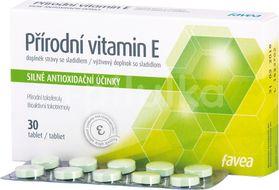 Přírodní vitamín E 30 tablet