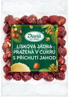 Diana Company Lísková jádra pražená v cukru s příchutí jahod 100g