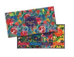 Chocolate and Love Pomegranate/Purple, bio čokoláda 4x80g