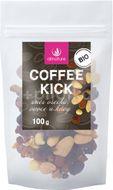 Allnature Coffee kick - směs ořechů, ovoce a kávy BIO 100g