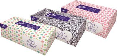 Papírové kapesníky LINTEO 200ks 1x BOX