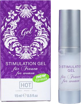 Hot Stimulační gel O-Stimulation Gel Woman 15ml
