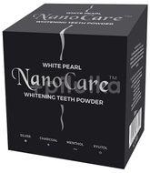 White Pearl Nanocare charcoal bělící pudr s aktivním uhlíkem 30g