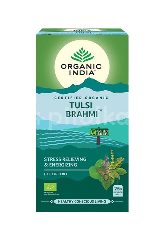 Organic India Tulsi Brahmi BIO 25 sáčků