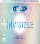 Durex Invisible Kondomy 3ks