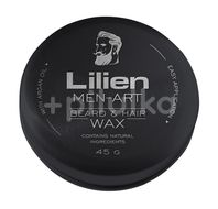 Lilien Men Art beard&hair wax Black 45g