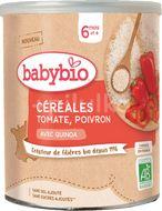 Babybio Zeleninová nemléčná kaše s rajčaty a paprikou 220g
