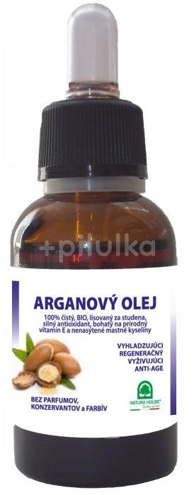Natura House Arganový olej Bio s kapátkem 30ml
