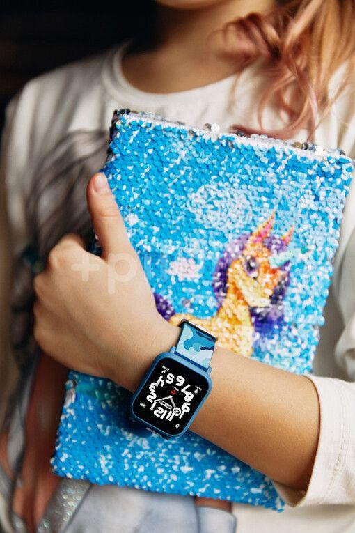 CANYON smart hodinky My Dino KW-33 Blue/Camo