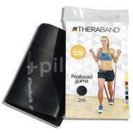 Thera-Band Posilovací guma 2m černá - speciálně silná