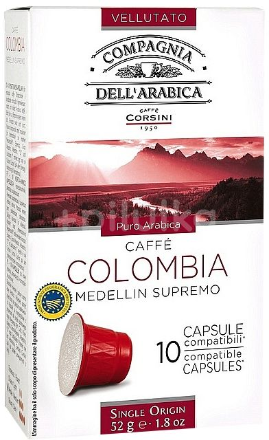 CORSINI kapsle Colombia 52g/10ks