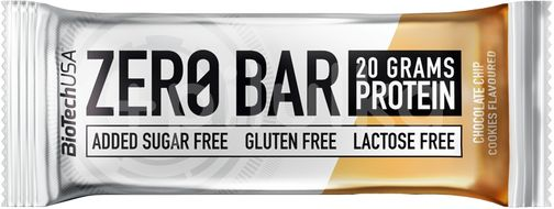 BioTechUSA Zero Bar čokoláda-cookies 50g