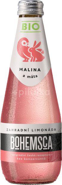 Bohemsca Bio Zahradní limonáda Malina & Máta 330ml