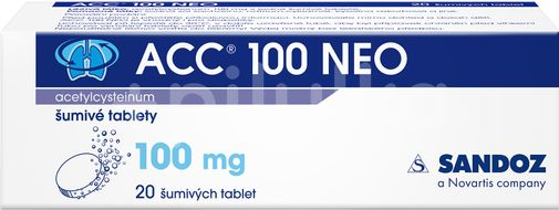 ACC® NEO 100 mg 20 tablet