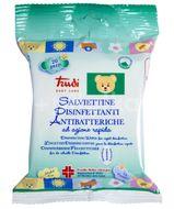 Čisticí vlhčené ubrousky desinfekční (antibakteriální) 20 ks