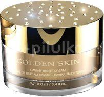 être belle Golden Skin Caviar noční krém Swarovski limited edition 100ml