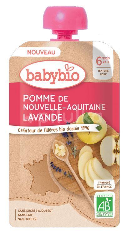 Babybio Jablko levandule 120g