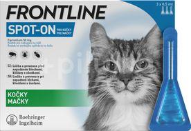 Frontline Spot On Cat pipeta 3x0,5ml