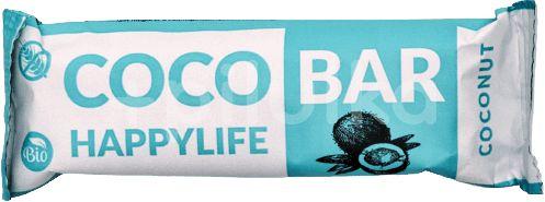HAPPYLIFE COCO BAR - Kokosová tyčinka BIO 40g