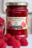 Kvasnička 100% malinový s kousky ovoce 275g