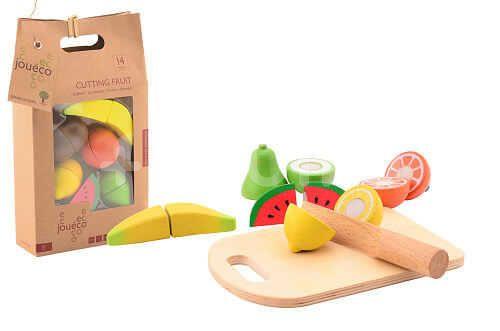 Jouéco Dřevěné krájecí ovoce 14ks